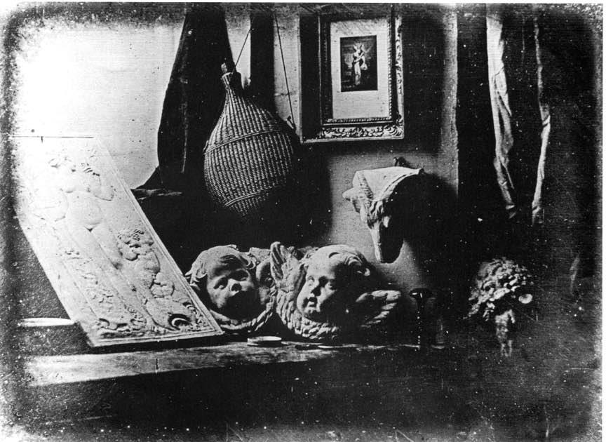 Prima fotografie prin procedeul Daguerreotype.
