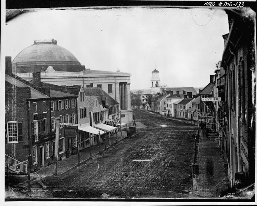 13 View from a Daguerrotype North side of Middle Street