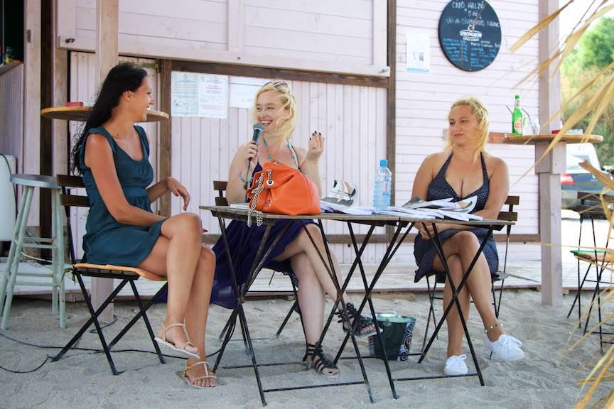 Lansare roman Noptile Amantilor - Corina Ozon
