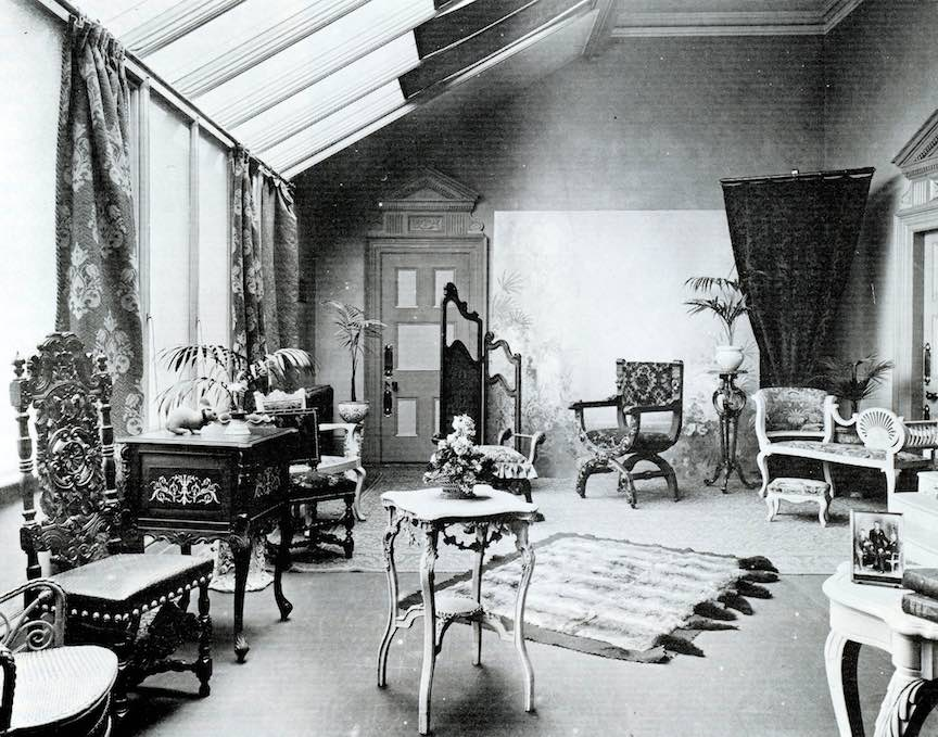 Portraits studio 1850