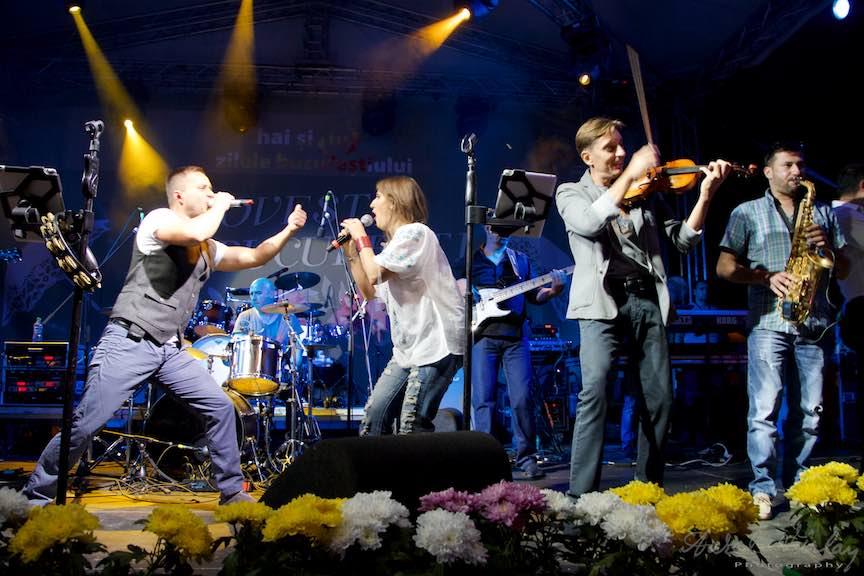 Provincialii in concert live la Zilele Bucurestiului.