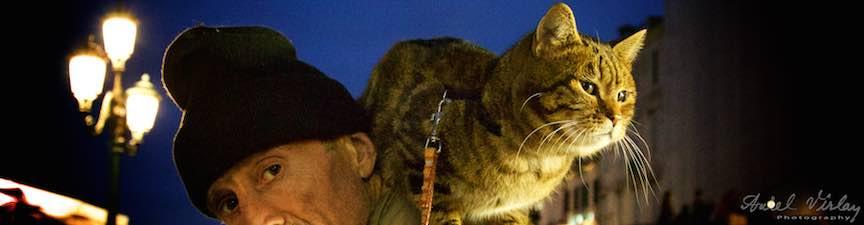 iMapp_Elements_Bucuresti-2015-Foto_AurelVirlan-Portret de barbat cu pisica.