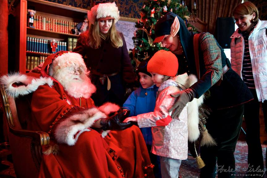 Mos Craciun la Bucharest Christmas Market - Fotografii in Casa lui Mos-Craciun