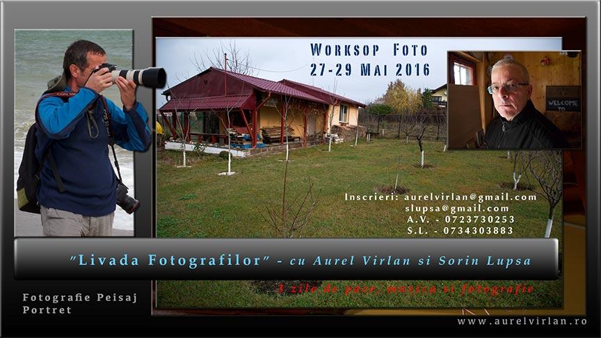 Afis Workshop Livada Fotografilor 2016