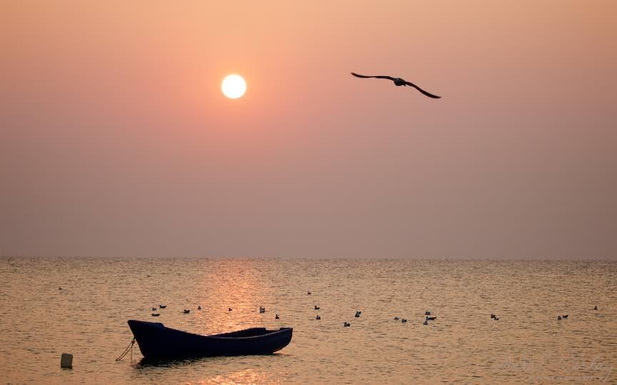 17-Vama-Veche-Pescarusul-barca-rasarit-soare-Fotografia-eseu-Aurel-Virlan