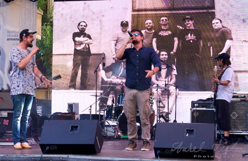 Basska Band in concert pe Strada Armeneasca